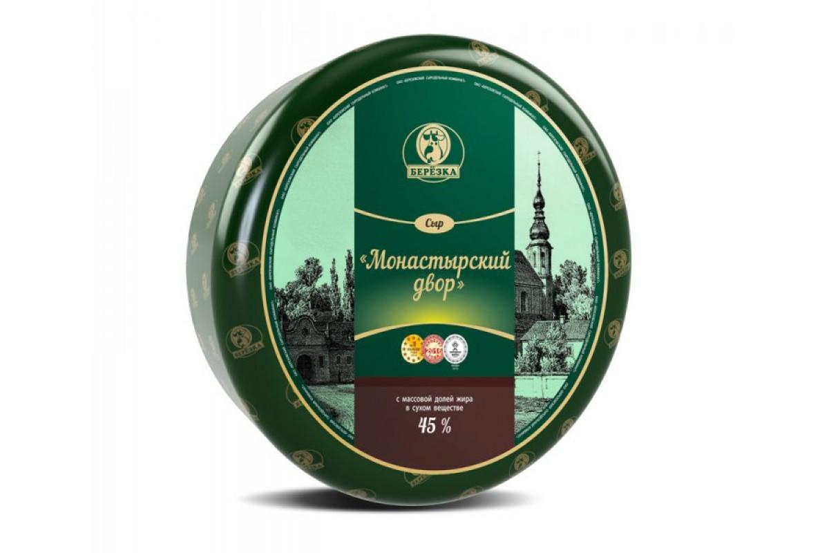 Монастырский сыр Береза